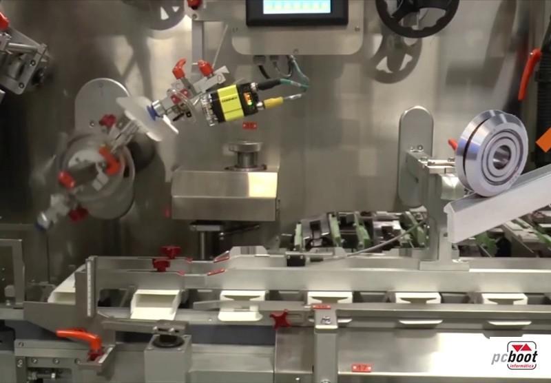 Sistema de controle para cartonagem